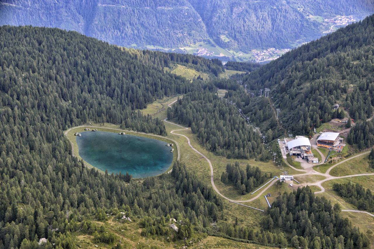 Bacino Val Mastellina - rendering