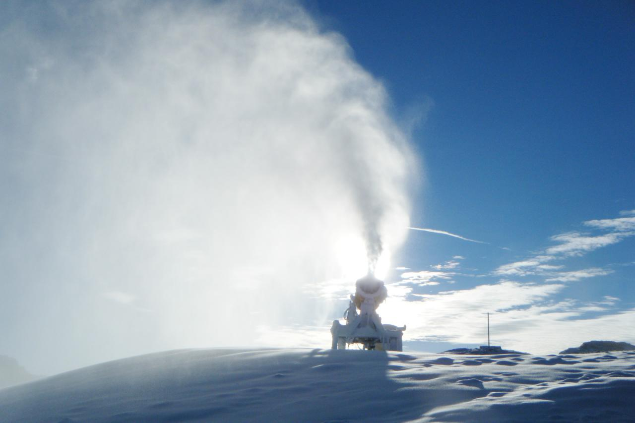 Generatore di neve a bassa pressione