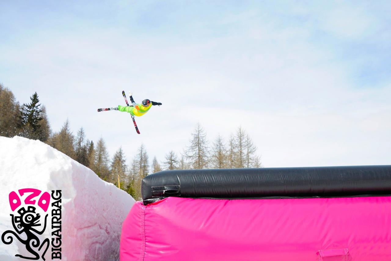 Snowpark Marilleva Big Air