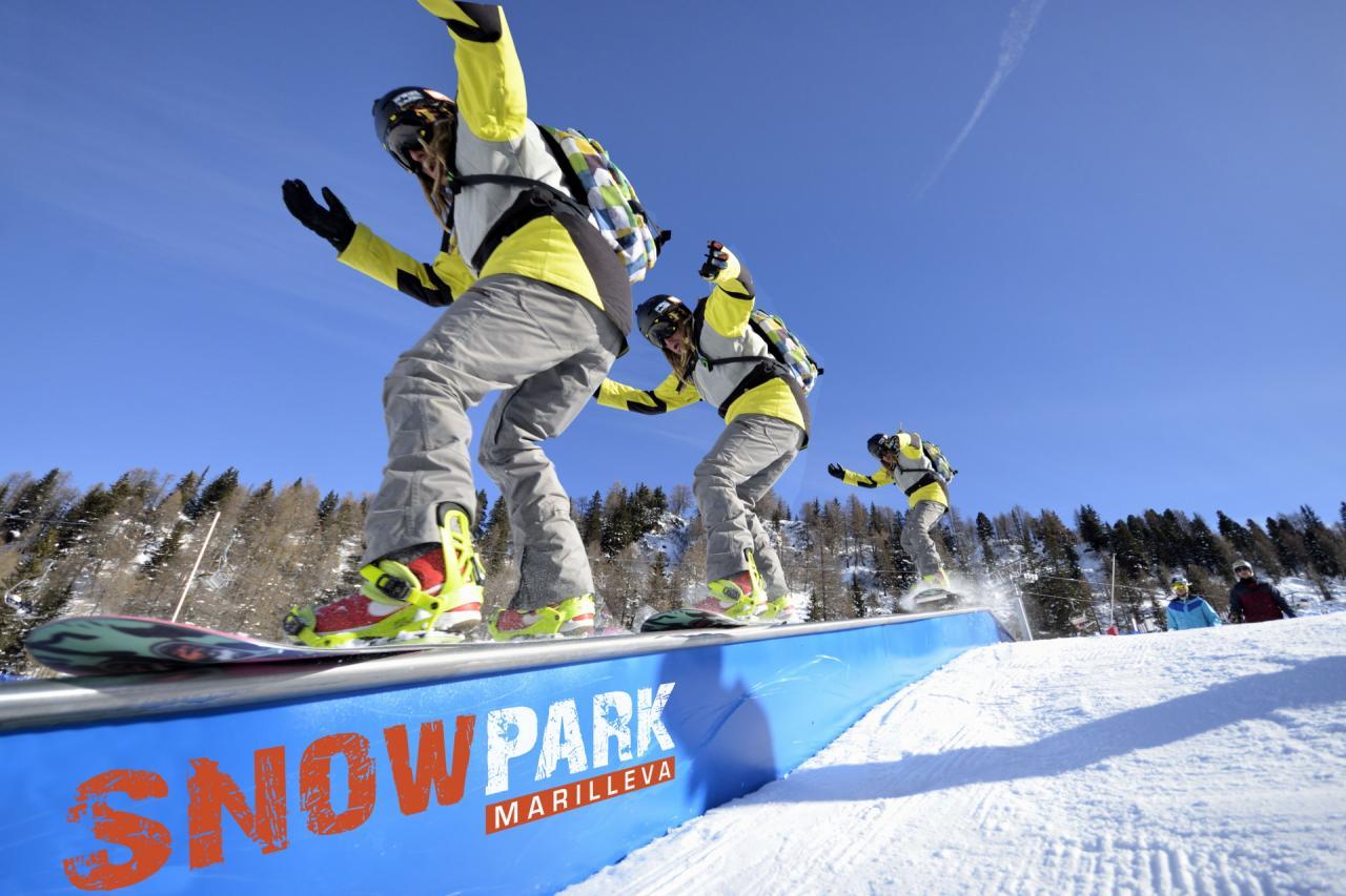 Snowpark Marilleva Box