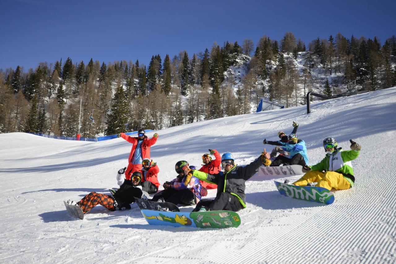 Snowpark Marilleva Fun
