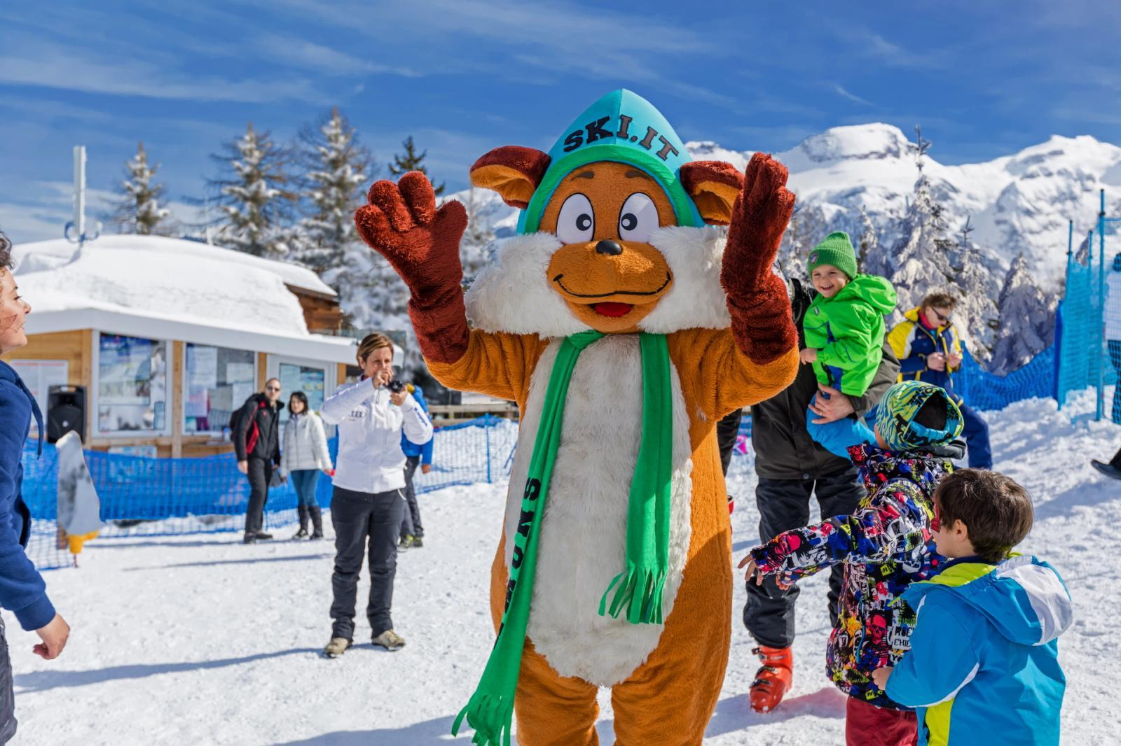 mascotte snowy