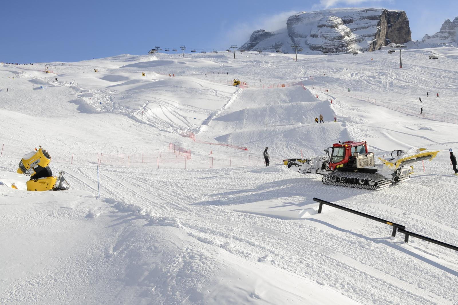 Produzione neve per Ursus Snowpark