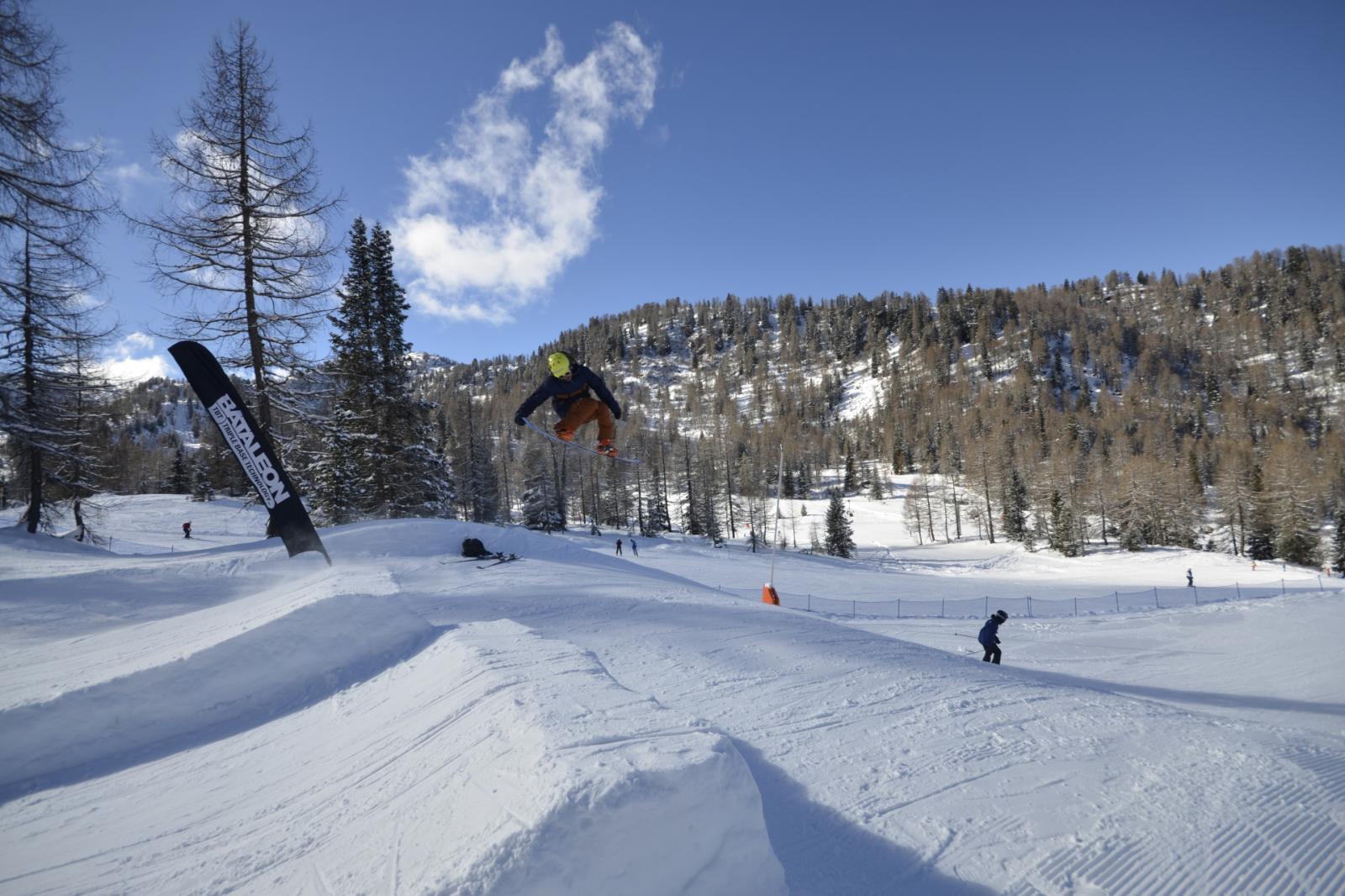 Snowpark Marilleva Jump