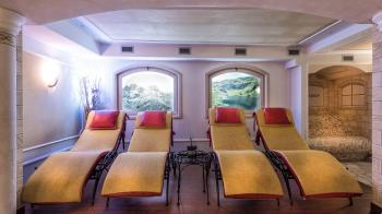 <b>Tramonto sulla funivia di Pinzolo, Trentino</b>