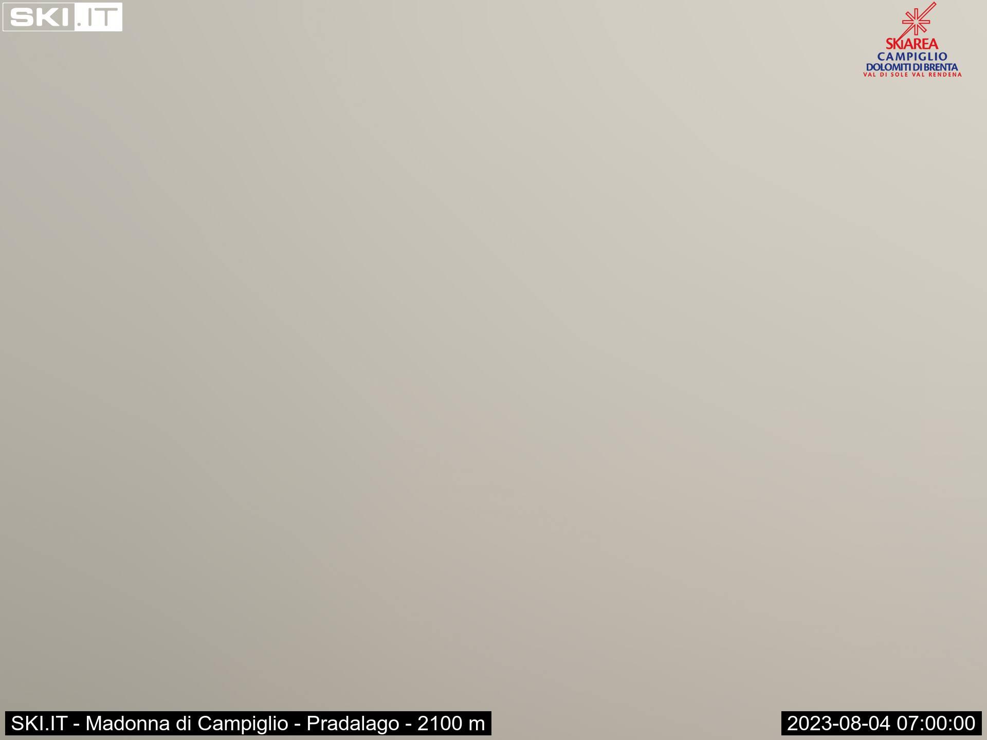 Webcam Madonna di Campiglio ski area Pradalago