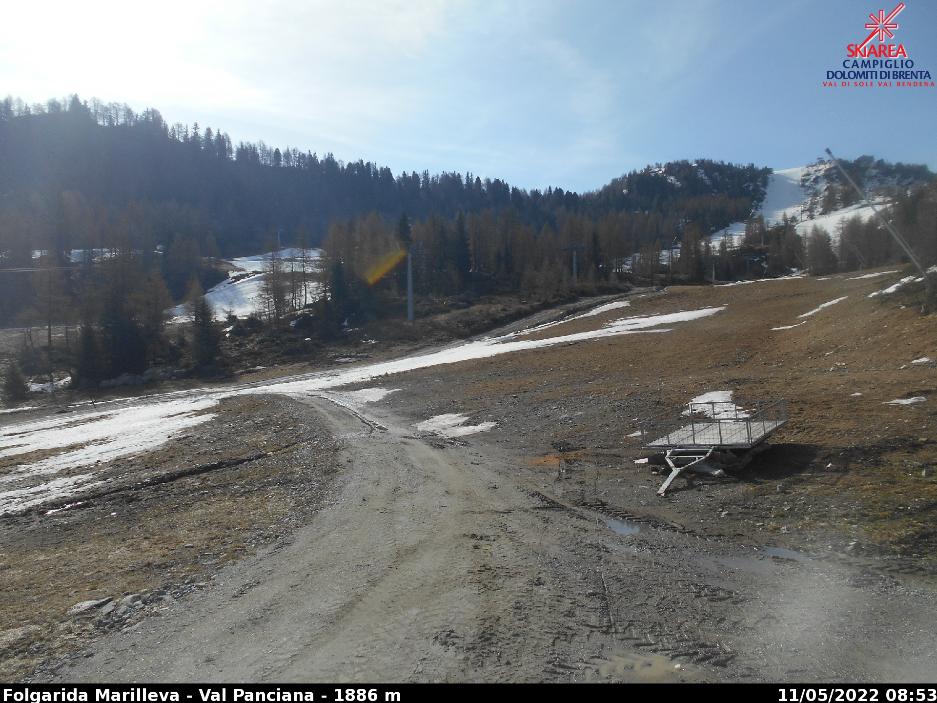 Webcam Val di Sole Folgarida Marilleva Val Panciana