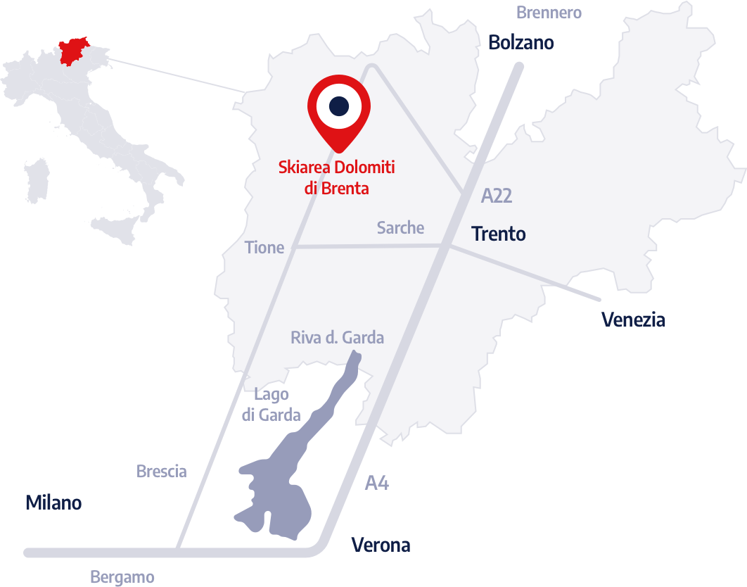 Mappa Trentino